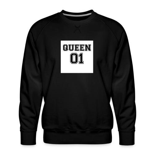 Queen 01 - Sweat ras-du-cou Premium Homme