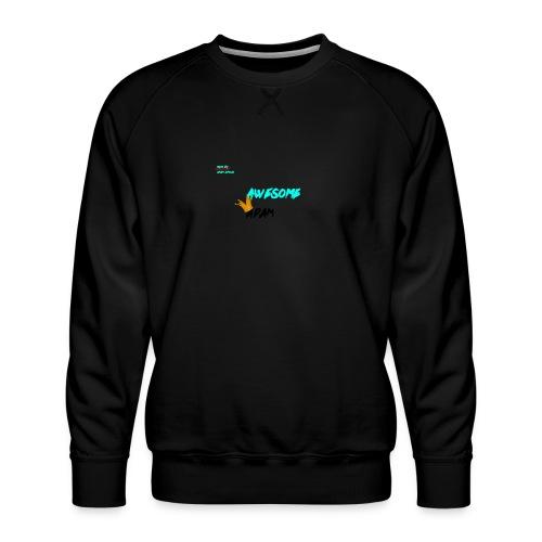 king awesome - Men's Premium Sweatshirt
