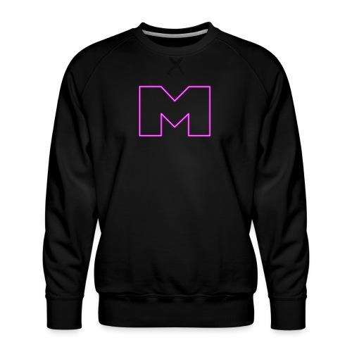 Meihemi M-logo - Miesten premium-collegepaita