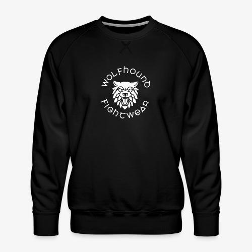 logo round w - Men's Premium Sweatshirt