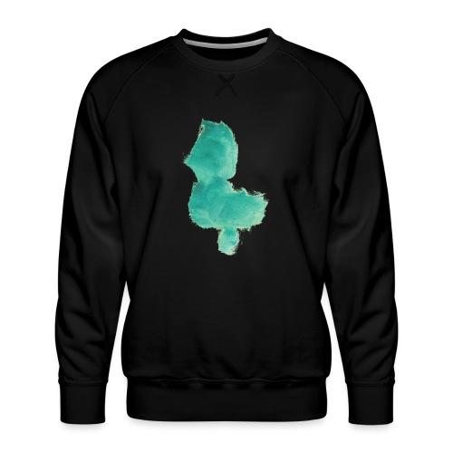 grünes Küken - Männer Premium Pullover