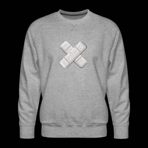Xanax X Logo - Männer Premium Pullover