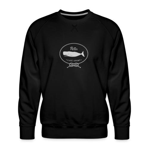 peter cafe sport porto 6 - Männer Premium Pullover