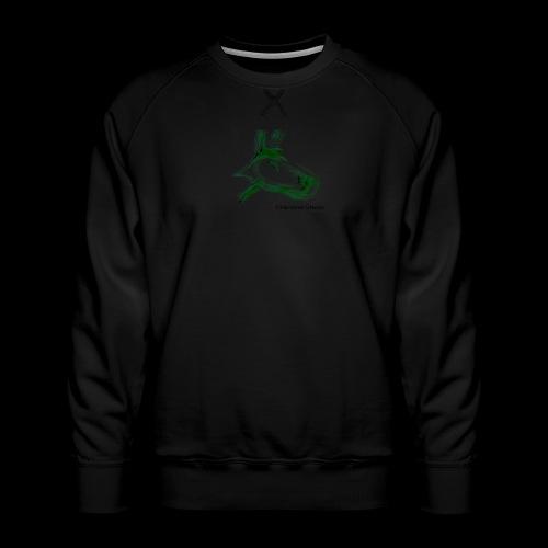 hundgrün.png - Männer Premium Pullover