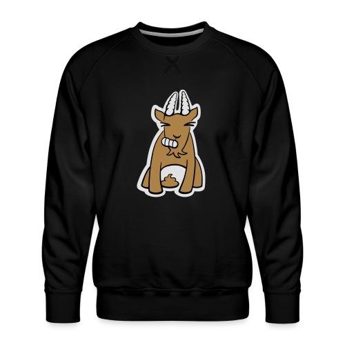 Scheissbock - Männer Premium Pullover