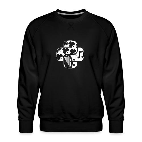 EuroPython 2020 - White Snakes - Men's Premium Sweatshirt