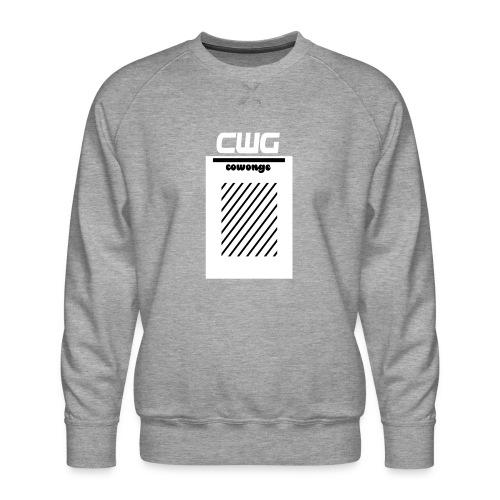 Cowonge - Frauen - Männer Premium Pullover