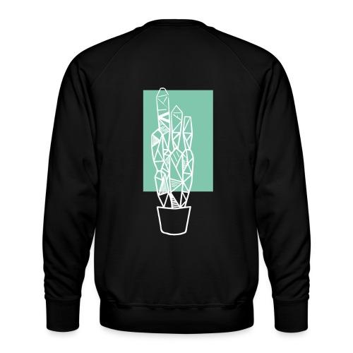 Kleiner Designer Kaktus - Männer Premium Pullover