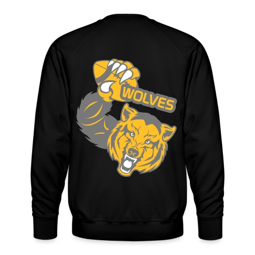 Wolves Rugby - Sweat ras-du-cou Premium Homme