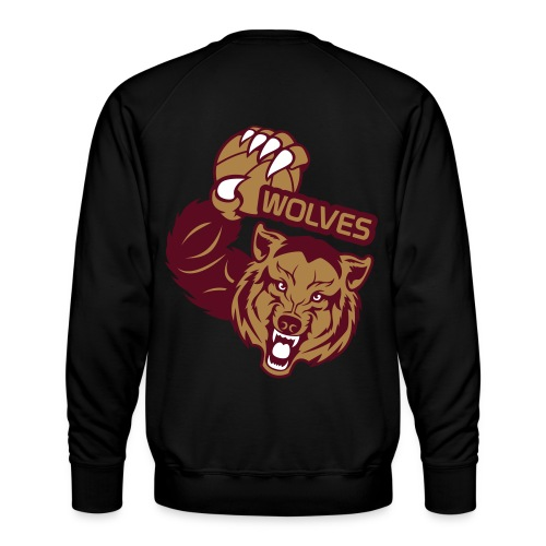 Wolves Basketball - Sweat ras-du-cou Premium Homme