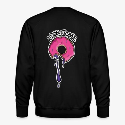 I Donut Care_Back Design - Männer Premium Pullover