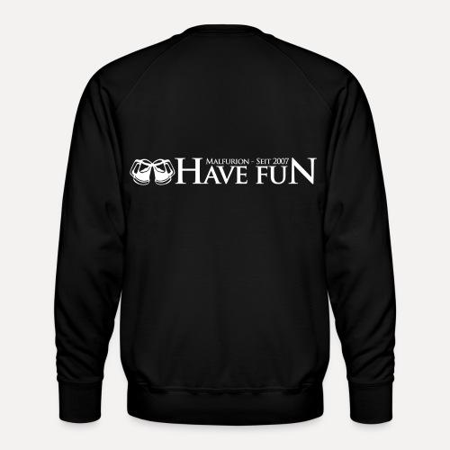 Logo Have Fun Malfurion - Männer Premium Pullover