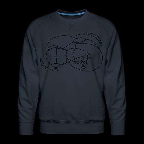 Osart7 spreadshrt mod a - Männer Premium Pullover