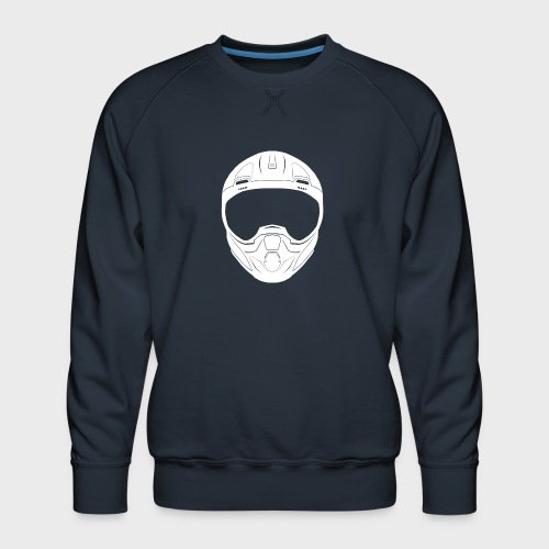 CSJG CBR Emblem - Men's Premium Sweatshirt