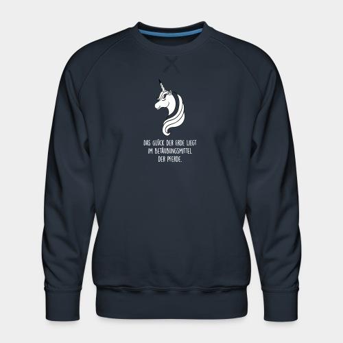 Das Glück der Erde...(Filled Up) - Männer Premium Pullover