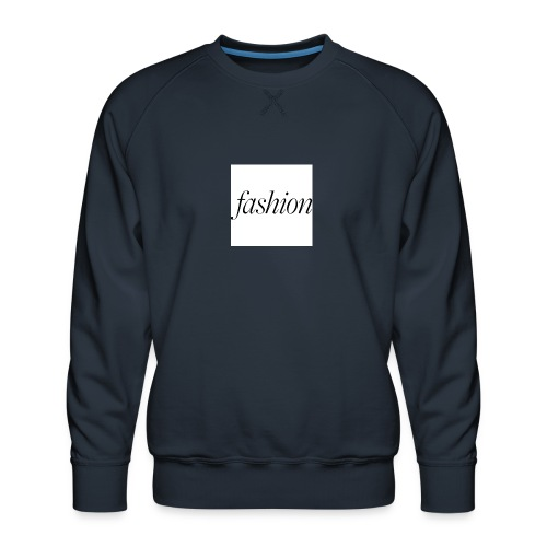 fashion - Mannen premium sweater