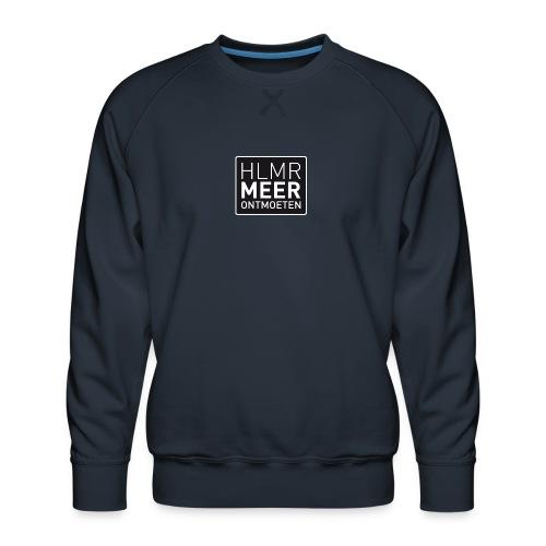hlmr ontmoeten w op drukwer 500 - Mannen premium sweater