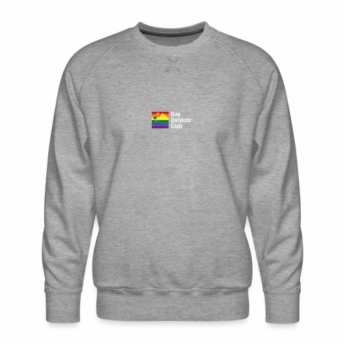 GOC Logo White Text - Men's Premium Sweatshirt