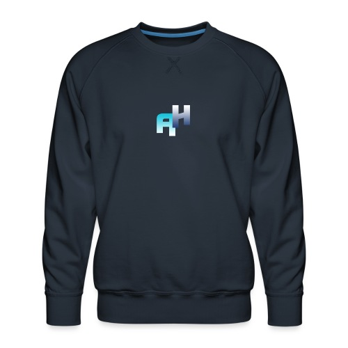 Logo-1 - Felpa premium da uomo