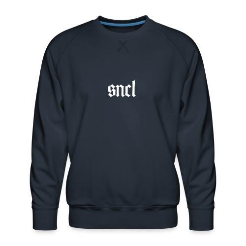 SNCL Retro Weiß - Männer Premium Pullover