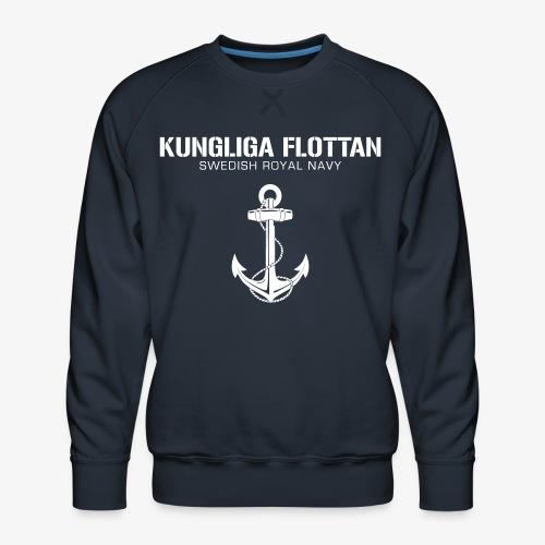 Kungliga Flottan - Swedish Royal Navy - ankare - Premiumtröja herr