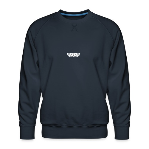LOGO wit goed png - Mannen premium sweater