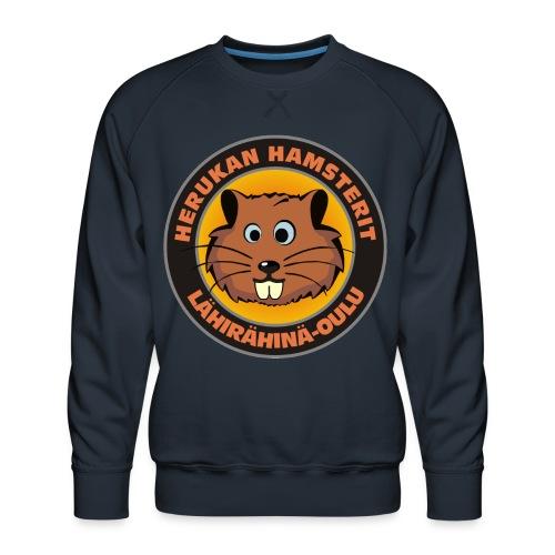 Herukan Hamsterit - Miesten premium-collegepaita