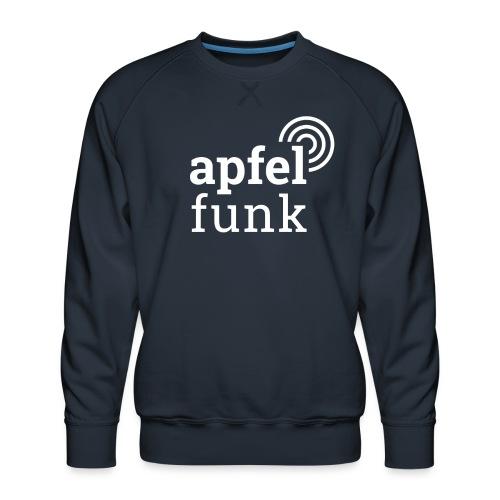 Apfelfunk Dark Edition - Männer Premium Pullover