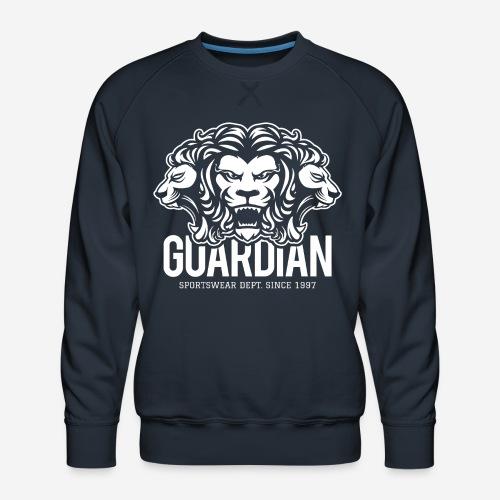 Löwenwächter Wächter - Männer Premium Pullover