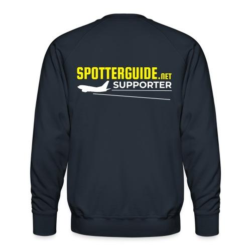 Spotterguide.net Supporter - Miesten premium-collegepaita