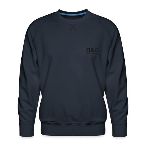 DG-logo - Mannen premium sweater