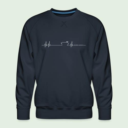 Herzschlag - Männer Premium Pullover