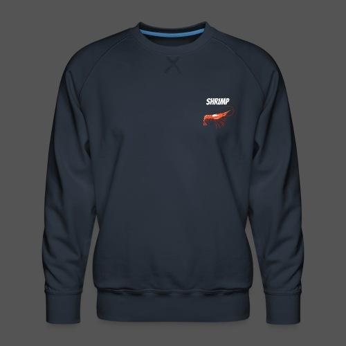 Maritimes T Shirt Shrimp Fisch Design Garnele - Männer Premium Pullover