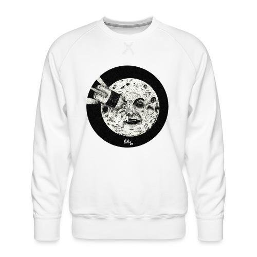 Viaje a la luna (Tributo a George Méliès) - Sudadera premium para hombre