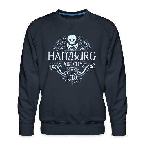 Hamburg Hafenstadt - Männer Premium Pullover