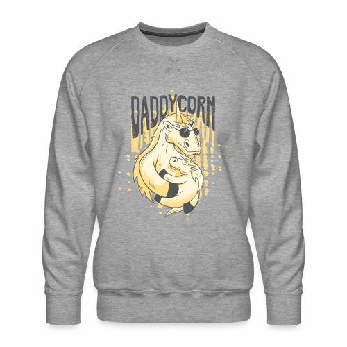 Daddycorn - Einhörner für echte Papas - Männer Premium Pullover