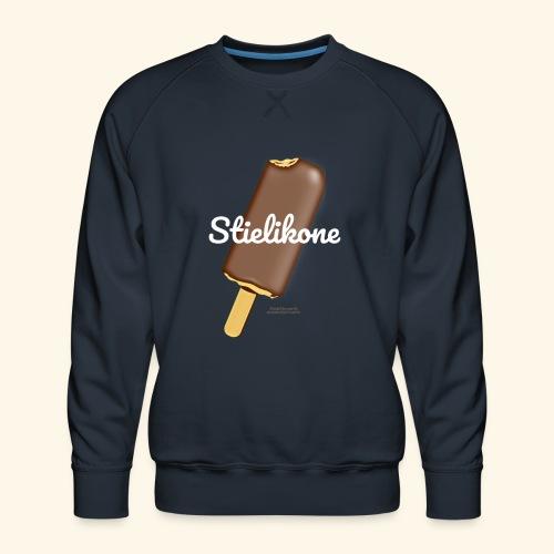 Eis am Stiel Geek T Shirt Spruch Stielikone - Männer Premium Pullover