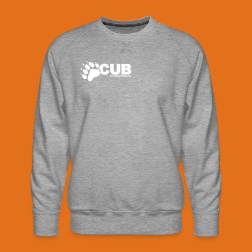 cub by bearwear sml - Men's Premium Sweatshirt