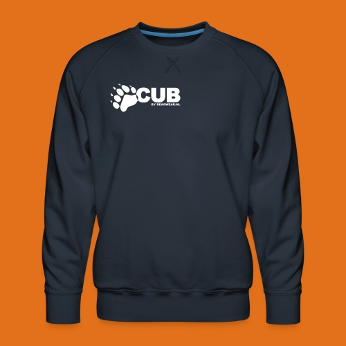 cub by bearwear sml - Men's Premium Sweatshirt