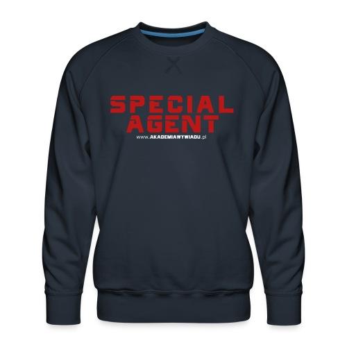 Emblemat Special Agent marki Akademia Wywiadu™ - Bluza męska Premium