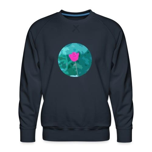 Flower power - Mannen premium sweater