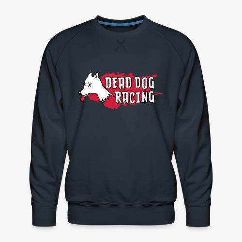 Dead dog racing logo - Men's Premium Sweatshirt