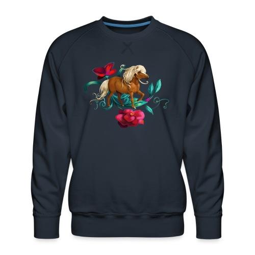 Kamelien Pony - Männer Premium Pullover