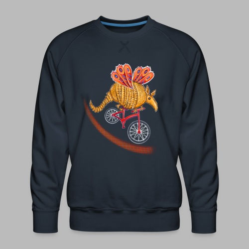Flying Armadillo - Men's Premium Sweatshirt