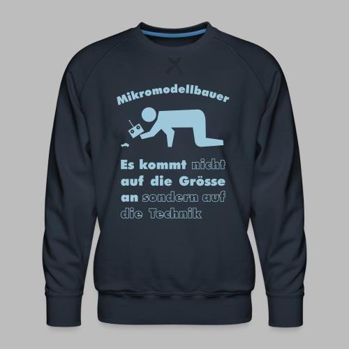 Mikromodellbau Weisheit - Männer Premium Pullover
