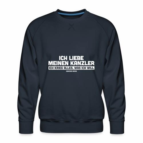 Ich liebe meinen Kanzler - Männer Premium Pullover