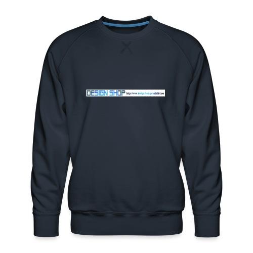 ny logo lang - Premium-genser for menn