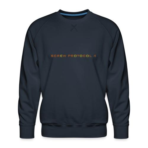 ScrewP4 Final - Men's Premium Sweatshirt