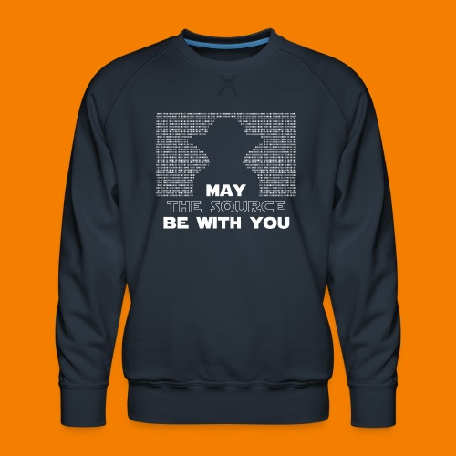 May the source be with you - Premiumtröja herr