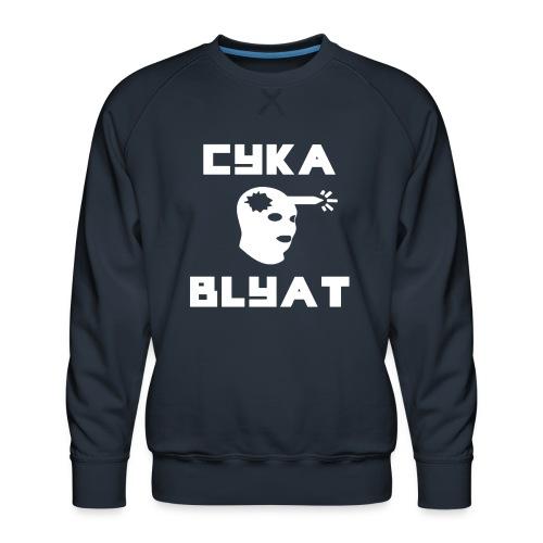 CYKA_BLYAT-png - Men's Premium Sweatshirt